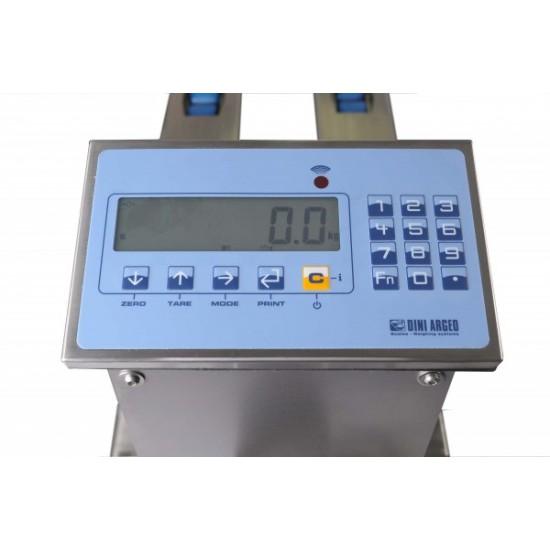 100302, Palleløfter med vægt. Palletmaster PRO 2