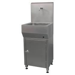 100512, Underskab til håndvask i rustfrit stål