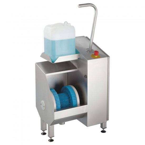 100608, Hygiejnestation til rensnings af såler og sålkanter