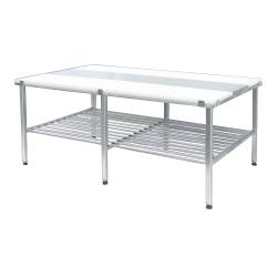 100799, Arbejdsbord i rustfrit stål med skæreplade